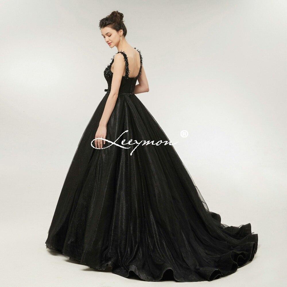 Robe De Soiree Black Shiny Sequin երեկոյան զգեստ - Հատուկ առիթի զգեստներ - Լուսանկար 6