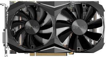 BYKSKI Full Cover Graphics Card Block use for ZOTAC GTX1080TI-MINI GPU Metal Copper Radiator Block RGB Light to AURA 4PIN 12V