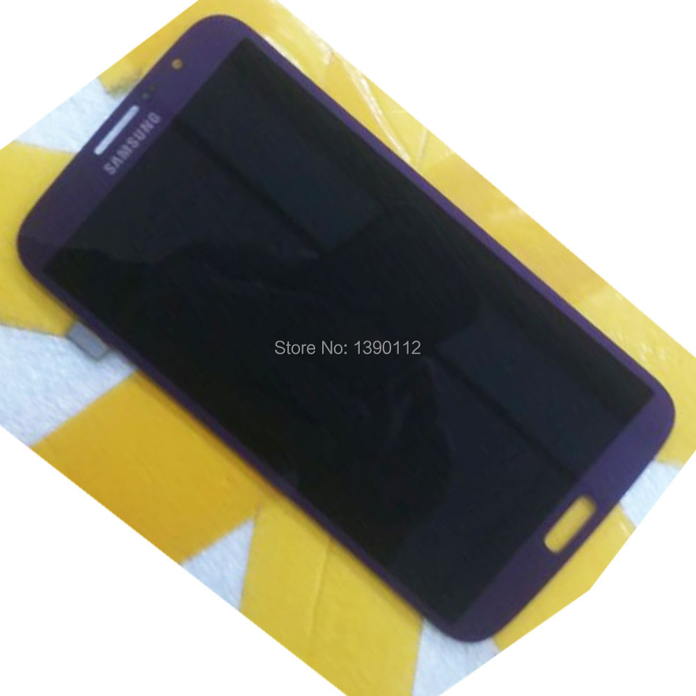 LCD Display Screen + Digitizer Touch Panel Assembly For Samsung Galaxy Mega 6.3 i9200 Purple