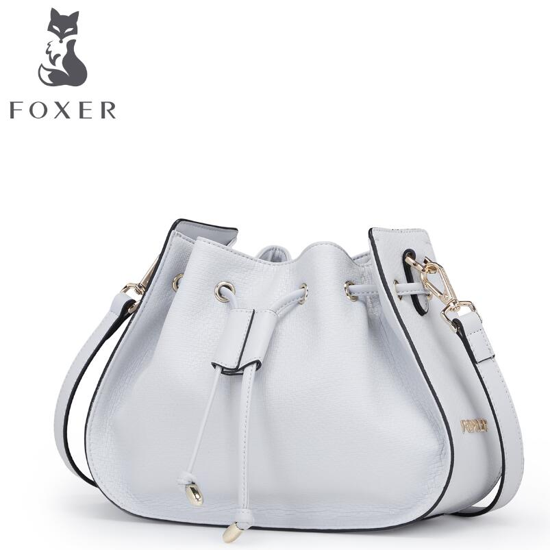 FOXER2017 new high-quality luxury fashion brand handbag serpentine leather bag counter genuine, well-known brands of women laorentou high quality luxury fashion brand 2016 new diagonal portable leather bag counter genuine well known brand of women