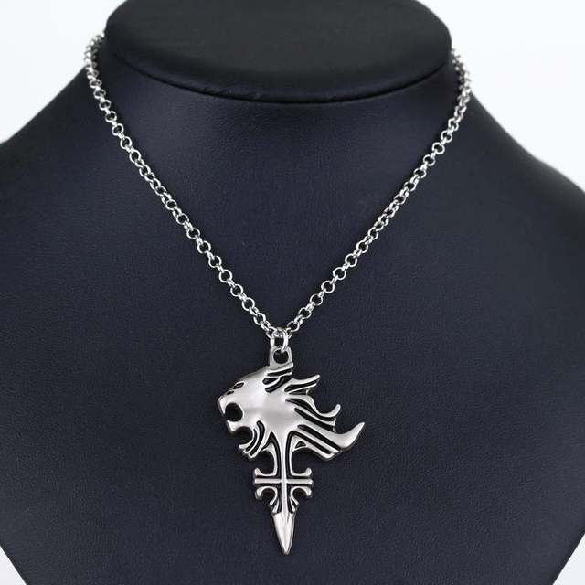Final Fantasy VIII 8 Griever Squall Necklace