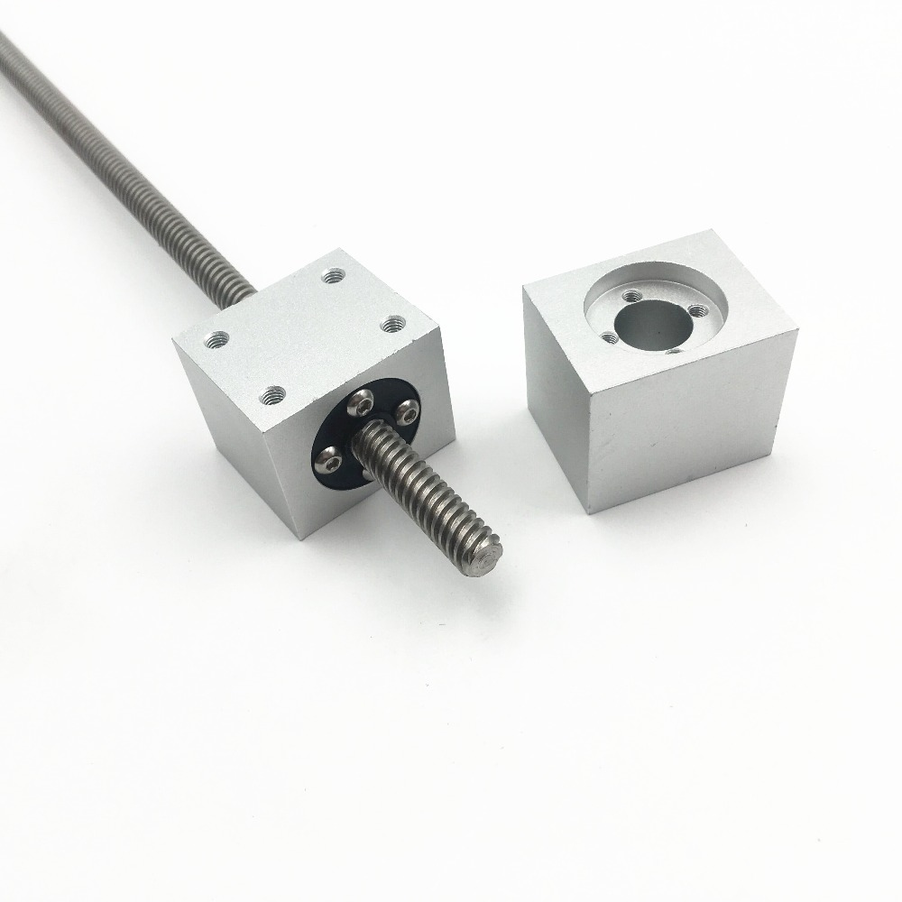 T8 Trapezoidal Lead Screw Nut Housing Bracket For DIY 3D Printer Reprap CNC Mahine
