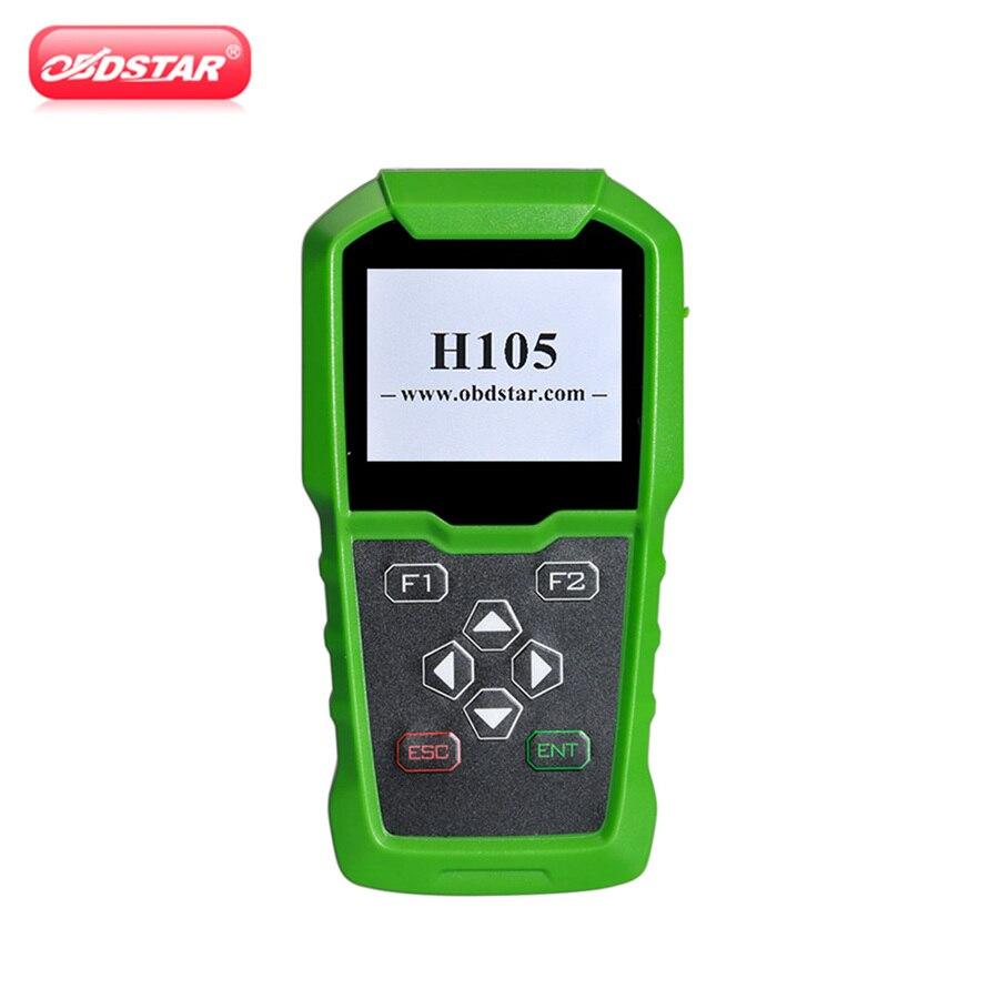 OBDSTAR H105 Auto Programador Chave/Código Pin Leitura/Cluster Calibrar H105 Para Hyundai/Kia 46/47 /8A Chip Full Coverage Lista