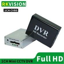 Thẻ SD Đầu Ghi Hình Mini Đầu Ghi Camera Quan Sát CVBS Module Ghi Âm 1CH HD Giám Sát Thời Gian Thực