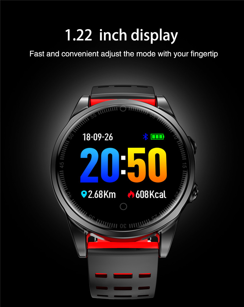 Smart watch fitness waterproof for Android IOS Display