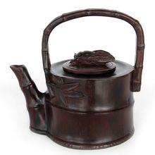 Rosewood mahogany wood sculpture ornament crafts antique teapot Home Furnishing soaring new quality furnishings