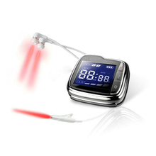 LASTEK Medical Laser Therapy Acupuncture Watch Treatment Sinusitis Sore Throat Tinnitus Lower Blood Pressure blood Clean