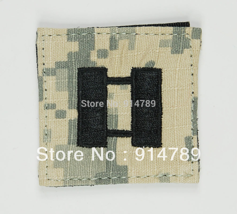 US ARMY ACU RANK 0-3 CAPTAIN RANK PATCH -32773