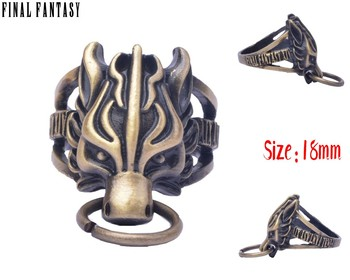 Кольцо Последняя фантазия Final Fantasy VII 18 мм