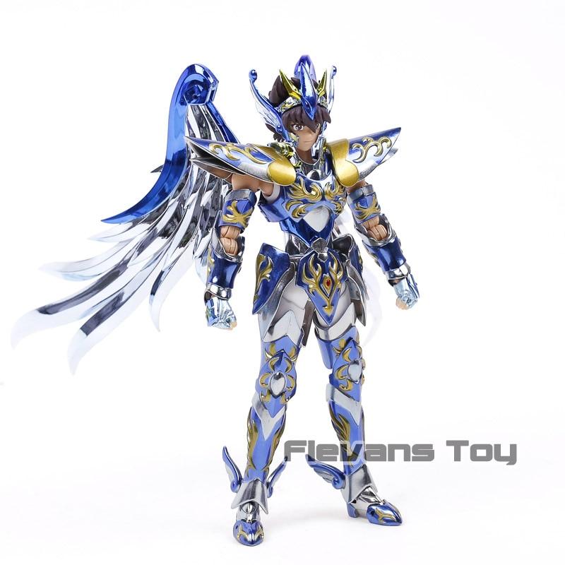 Saint Seiya Soul of Gold V4 Metal& PVC Action Figure Collectible Model Toy bracket model soul bracket stand for stage act robot saint seiya toy figure t026