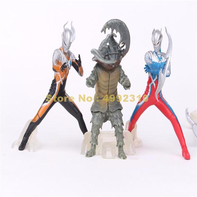 Image 2 - 5pcs/set ultraman monster super man vs monster the 5th pvc action figure collection model toy 10~12cm ToyAction & Toy Figures   -