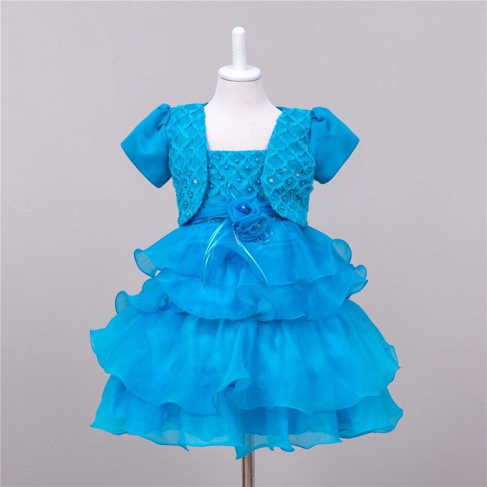 Ball Gown Children Tulle Flower Girl Dresses For font b Weddings b font 2017 Communion Princess