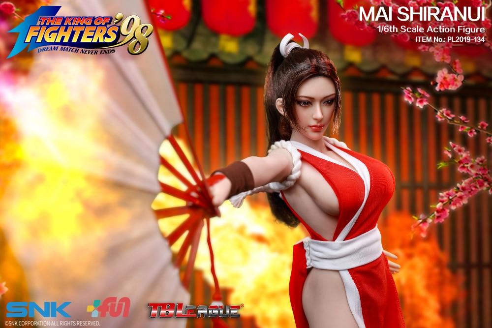 TBLeague PHICEN Seamless Female Body KOF 98 MAI SHIRANUI 1 6 FIGURE