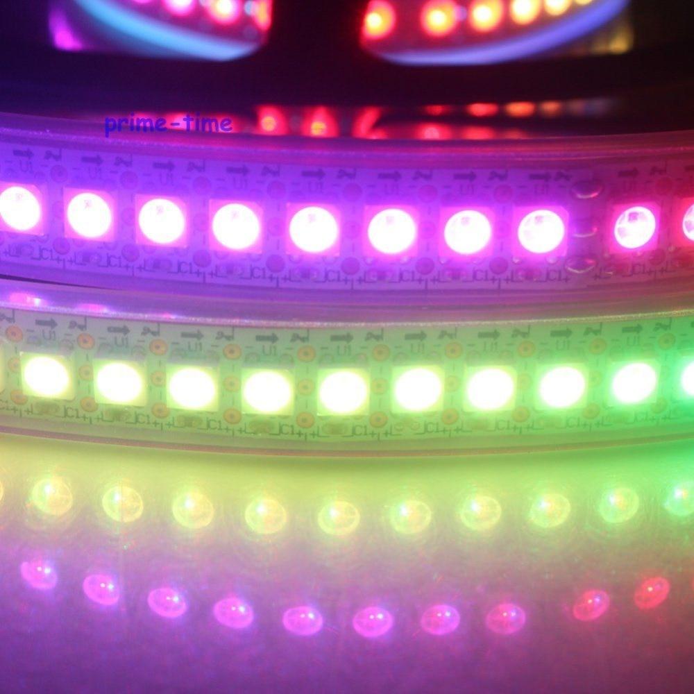 1M WS2812B 144 Pixels Сандық жарықдиодты жолақ, - LED Жарықтандыру - фото 5