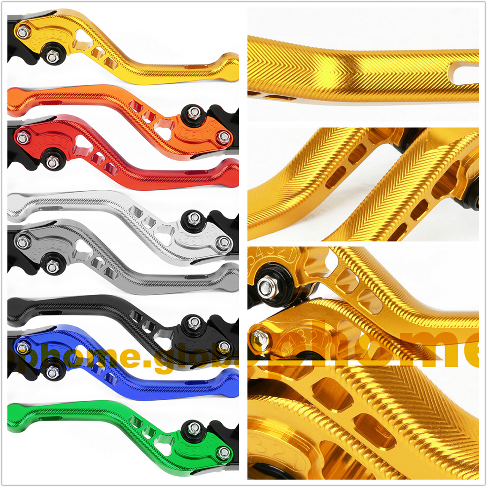 For Yamaha YZF R15 2008 - 2014 3D Anti-slip Short/Long Clutch Brake Levers CNC Adjustable 2013 2012 2011 2010 2009 motorcycle adjustable brake clutch levers for yamaha yzf r6 yzfr6 2005 2016 2006 2007 2008 2009 2010 2011 2012 2013 2014 2015