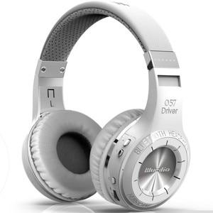 Image 4 - Bluedio HT/ TM אלחוטי Bluetooth 5.0 אוזניות סטריאו Bluetooth אוזניות מיקרופון מובנה עבור שיחות 3.5mm wired כבל