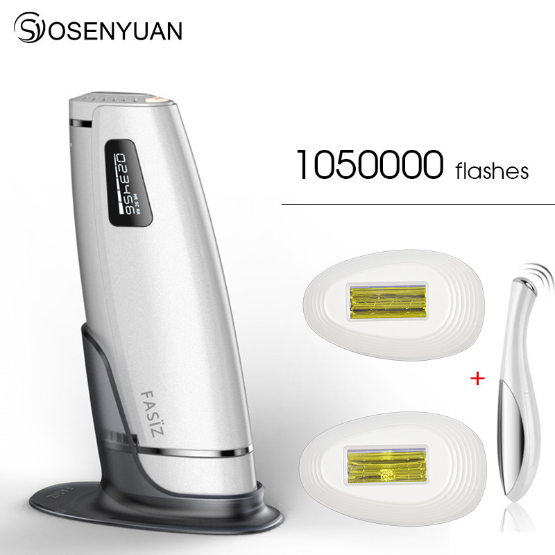 Lescolton 3in1 1050000pulsed IPL Laser Hair Removal Device Permanent Hair Removal IPL laser Epilator Armpit Hair Removal machine in Epilators from Home Appliances