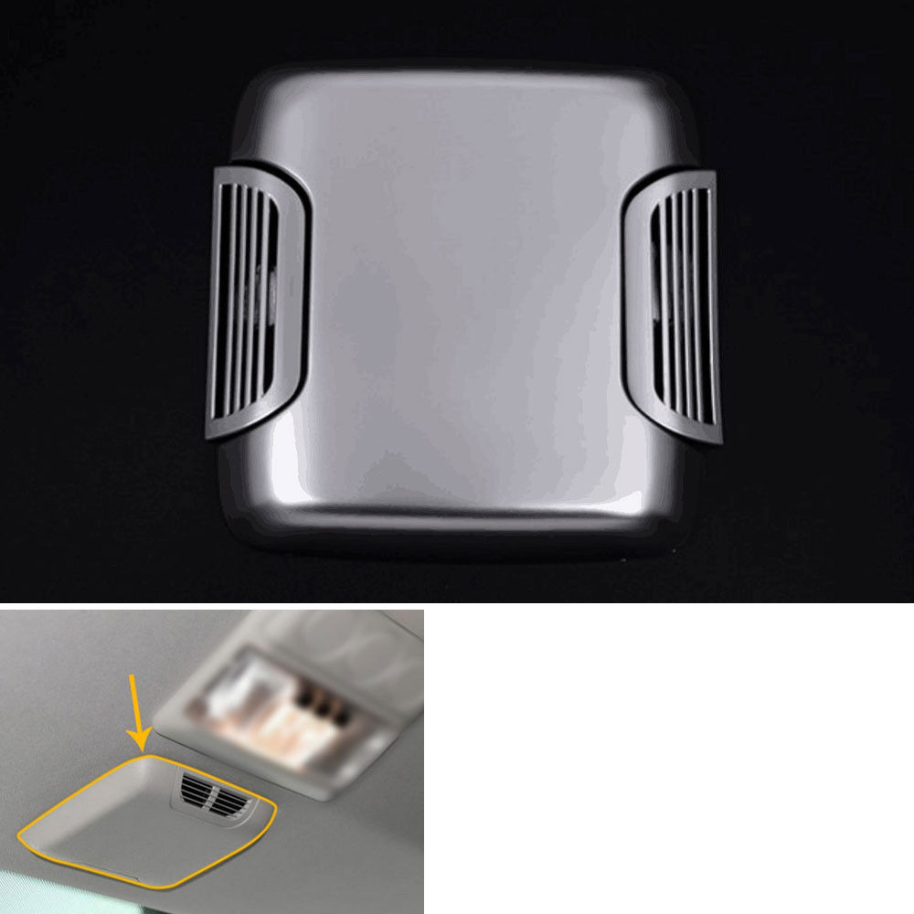 Fit for Land Rover Discovery 4 LR4 2005-2016 Car Inner Roof Top Air Outlet Vent Cover Trim Styling Sticker 9pcs aluminium alloy dashboar console central air conditioner outlet vent cover trim for ford mustang 2015 2016 2017