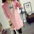 2016 New Autumn Winter Women Cardigan Pockets Solid  Coat Simple Style Women Knitted Sweater Cardigan C247