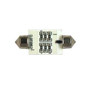 Image 4 - 10pcs Festoon 39mm LED 5050 Lampada Auto Della Lampadina 3W 6 SMD 6000k 200lm Bianco Auto Luce di Lettura 5050/Indicatore/Tetto Lampada (DC/12V)