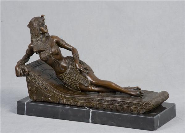 Moderne Kunst Skulpturen atlie klassische heißer cast bronze moderne kunst dame liegen