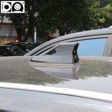 Waterproof shark antenna Strong radio signal Piano painting Abs plastic for Hyundai Santa fe