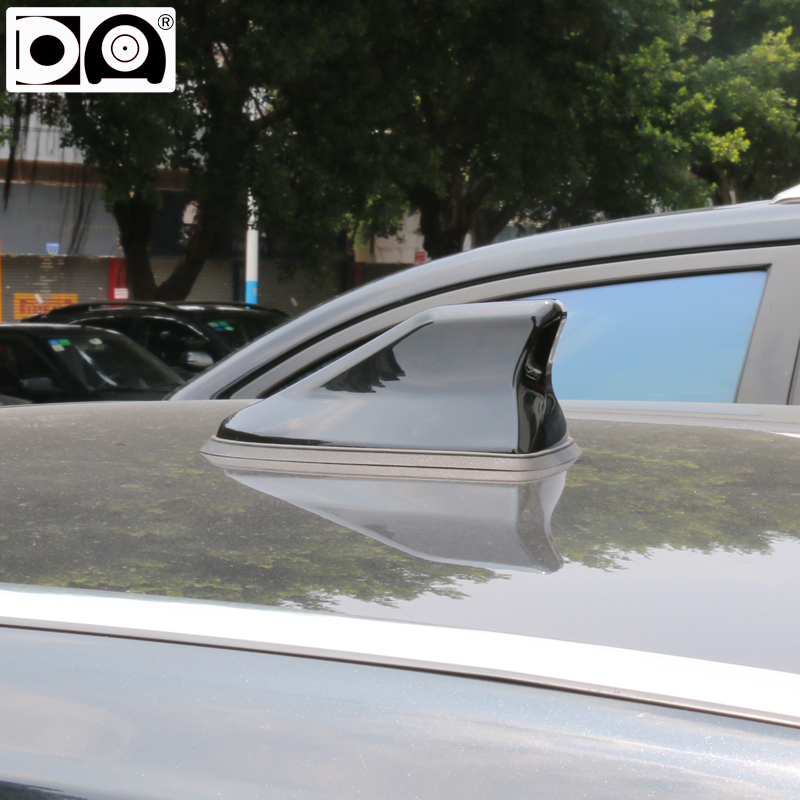 Waterproof shark antenna Strong radio signal Piano painting Abs plastic for Mazda 3