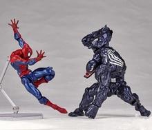 venom spiderman anime action figures kids boys toys for children figurines model oyuncak