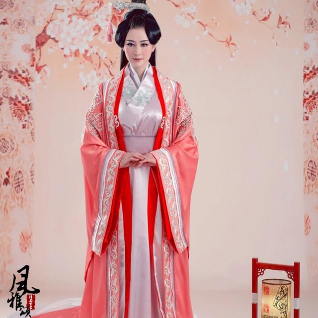 77abca683 High quality Traditional Women Tang Ancient Chinese Costume Beautiful Dance  Hanfu Princess Dynasty Opera Chinese Hanfu Dress
