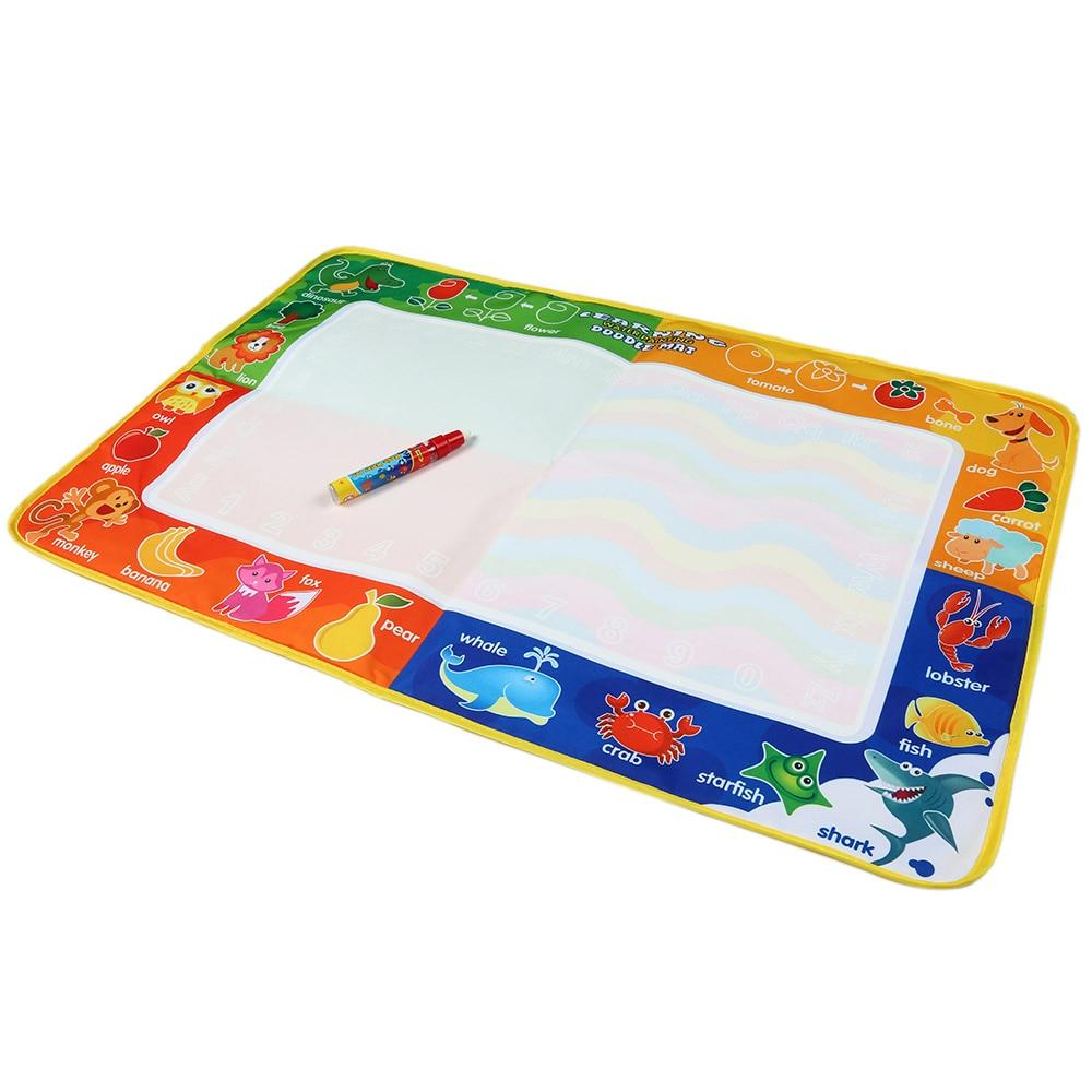 Детские добавить воды с Magic Pen Doodle картина Вода Рисование играть Коврики в Игрушки для рисования доска подарок для детей