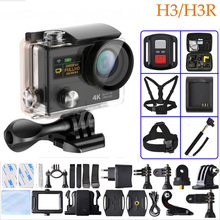 Action Video Camera H3 HD 4K Wifi 1080p 60fps H3R 2.4G Controller Mini Camera Dual Screen Wide Angle Sport Camera