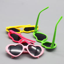 Playful Sunglasses for Blythe Doll Heart Flower Shaped Shades