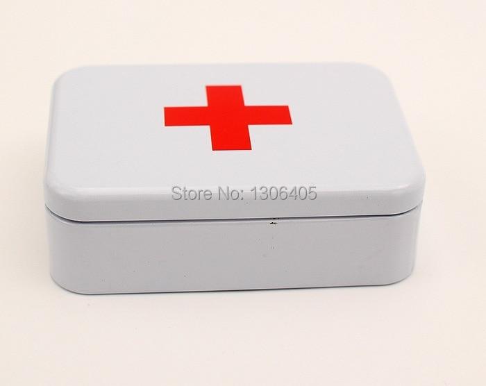 Opslag Metalen doos Organisator / Tin / EHBO-doos Eerste hulp Britse - Home opslag en organisatie - Foto 4