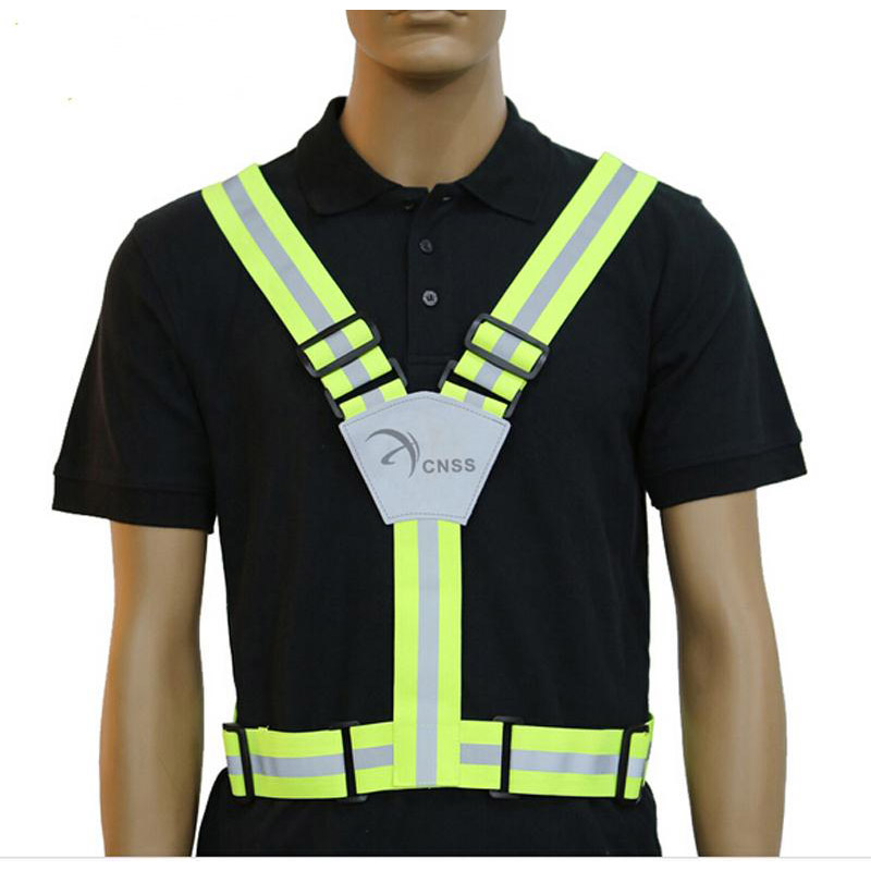 Reflective Vest For Motorcycle Riding Cycling with 360 Degree Reflective Safety Clothing Vest