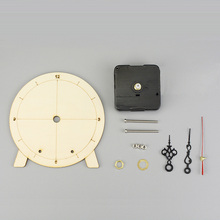 DIY Clock Model Kids handmade STEM toys Primary School Student Teaching Science learning aids children puzzle educational gifts цены