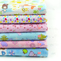 1 meter 6 colors to choose 100% cotton flannel fabric with little bear deer love heart floral, baby clothes bedding cloth CR428