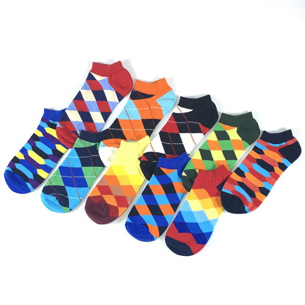 2019 мужские носки новейший дизайн повседневные носки-следки короткие летние дышащие высококачественные хлопковые носки мужские