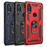 Luxury Case For Xiaomi Redmi Note 7 Pro 9 Silicone Armor Bumper Shockproof Phone Case For Xiaomi 9 SE With Finger Ring cover
