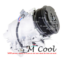 High Quality Brand New AC Compressor For Car Acura TSX 2.4L l4 Gas 2004-2008 38810RBBA01 38810-RBB-A01