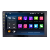 Android 6 0 1 Touch Button 7 Inch Car Multimedia Player For Universal Quad Core Car