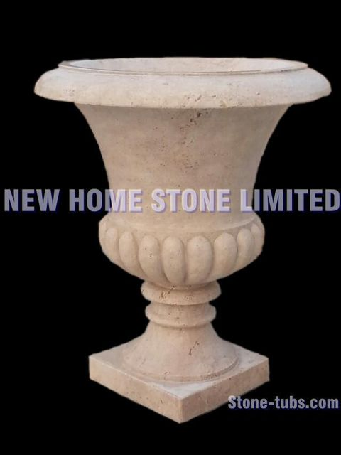 outdoor garden planters beige travertine large flower pot free stand     outdoor garden planters beige travertine large flower pot free stand simple  design garden pots