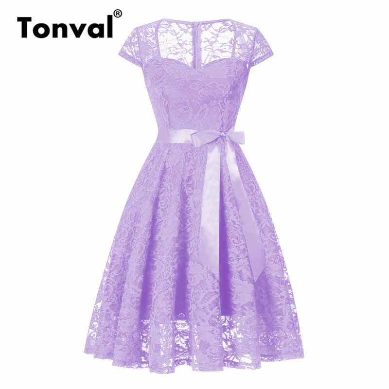 66cdd48b5a8d1 Detail Feedback Questions about Tonval Purple Floral Lace Vintage ...