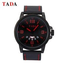 Горячих женщин по продажам прохладный наручные часы tada бренд 3atm водонепроницаемый кожаный ремешок часы мужчины горячие продажи военные часы