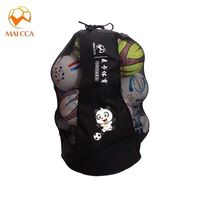 MAICCA Football ball bag Basketball training bag big carrying mesh volleyball holder Soccer ball bags capacity 25pcs