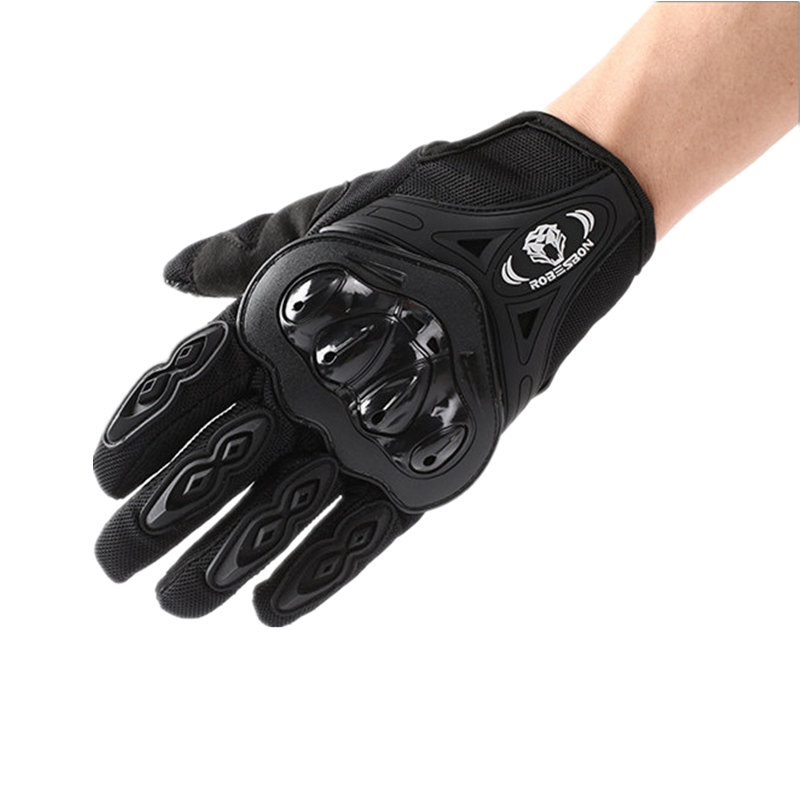 Motorcycle Gloves Offroad Knight Locomotive Military Tactical Gloves Riding Racing Black Mittens Driving Moto Full Finger Gloves