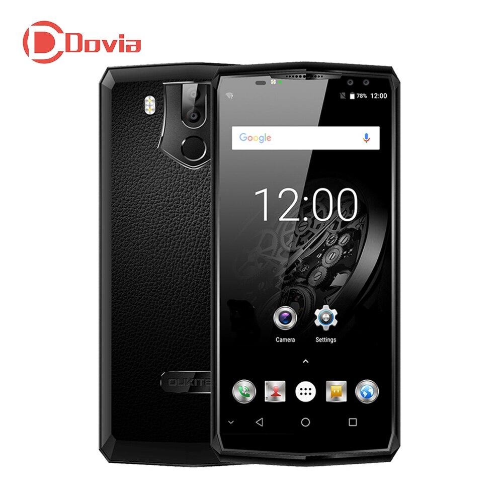 OUKITEL K10 4g Mobile Téléphone 11000 mah 6.0 Android 7.0 MTK6763 Octa Core 2.0 ghz 6 gb + 64 gb 16MP + 0.3MP Double Cames Arrière Double Avant Cames