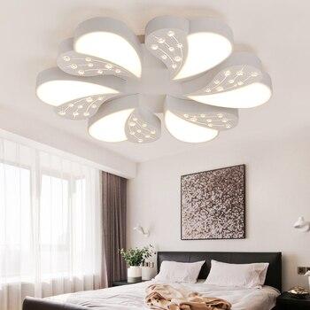 نوم رومانسية الزفاف أدت السقف مصباح جو غرفة المعيشة الحديثة الإبداعية الرئيسية luminarias الإضاءة كريستال بريقا