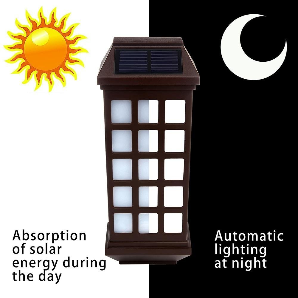 lampada led solar