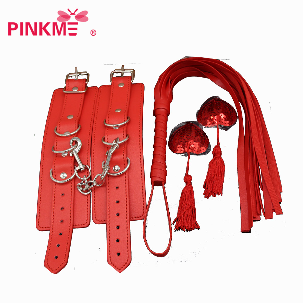 Costumes Accessories Whip handcuffs silicone NIPPLE sticker Imitation leather whip Role  ...