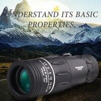 26x52 Portable Handheld Monocular Telescopio Optical Len Green Film Coating Outdoor Spotting Scope HD Telescope